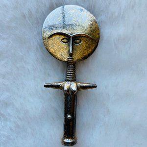 Vtg Alva Museum Replicas Fertility Goddess Pin